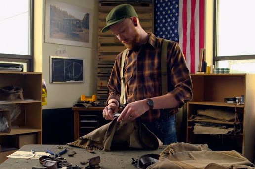 See How Bags are Given a Second Life by the Filson Restoration Department