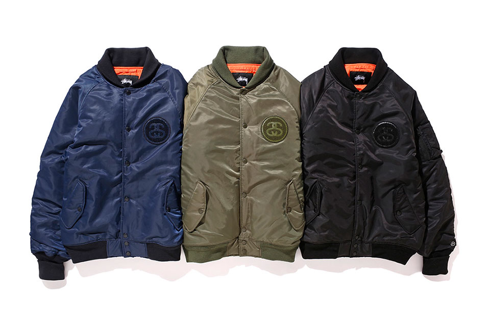 fragment design x Stussy 35th Anniversary Collection