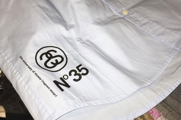 A First Look at the fragment design x Stussy 35th Anniversary Collection