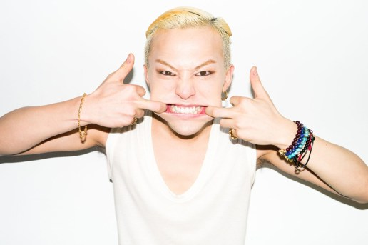 G-Dragon Visits Terry Richardson's Studio