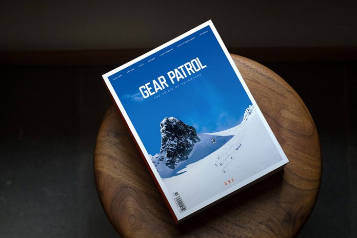 Gear Patrol Magazine Debut Issue