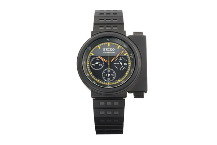 Giugiaro Design & Seiko Brings Back Ripley's 'Aliens' Watch