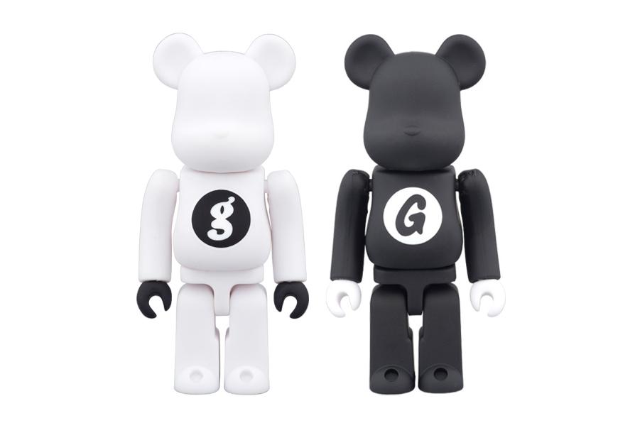 GOODENOUGH x Medicom Toy 100% & 400% Bearbricks