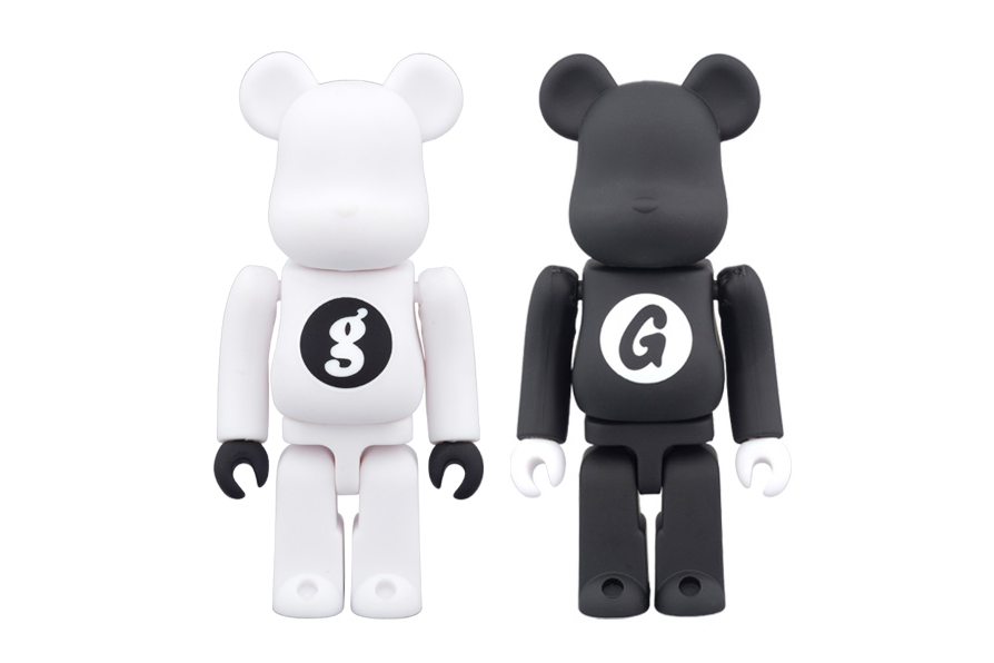 GOODENOUGH x Medicom Toy 100% & 400% Bearbricks