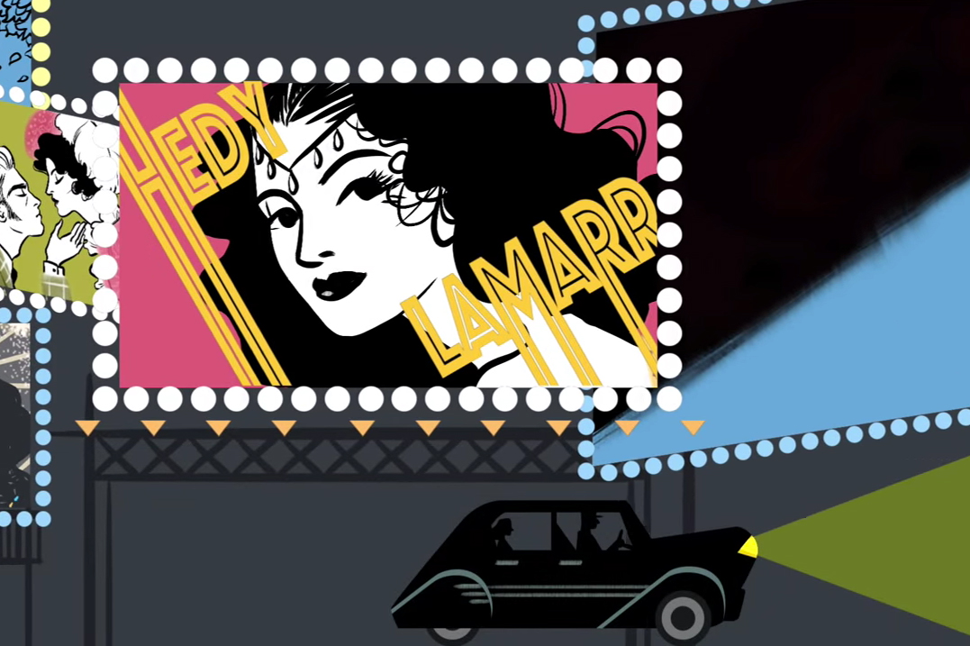 Google Doodle Celebrates 101st Birthday of Inventor & Actress Hedy Lamarr