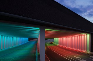 Time and Space: Herman Kuijer's Illuminated Passages in the Netherlands