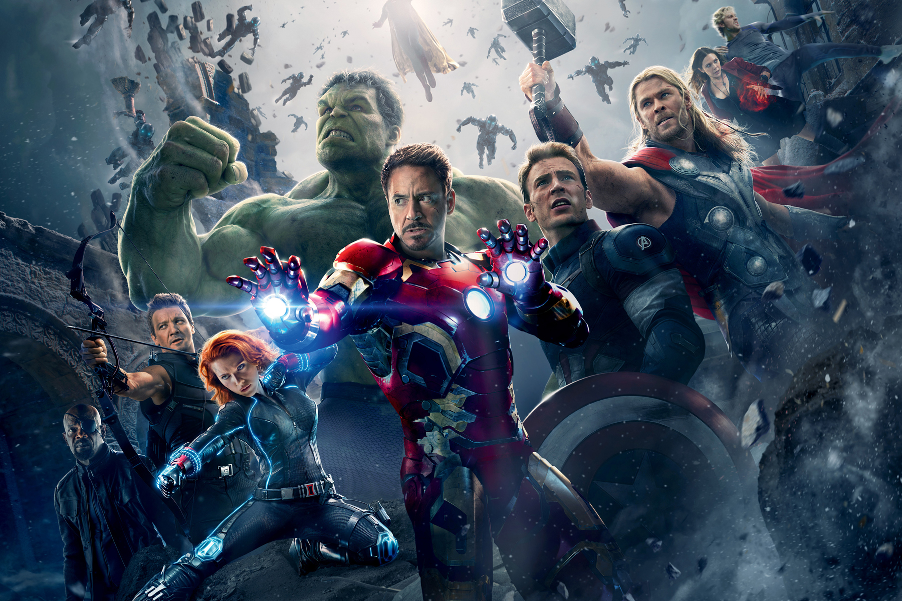 Here's How Much Each Avenger Got Paid for 'Age of Ultron'