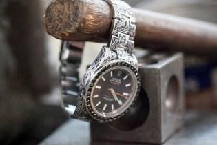 Fin Des Temps x Huckleberry LTD Custom Rolex Milgauss With Black Diamonds