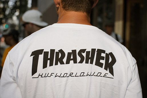 HUF x Thrasher Stoops USA Tour Limited Edition Collection