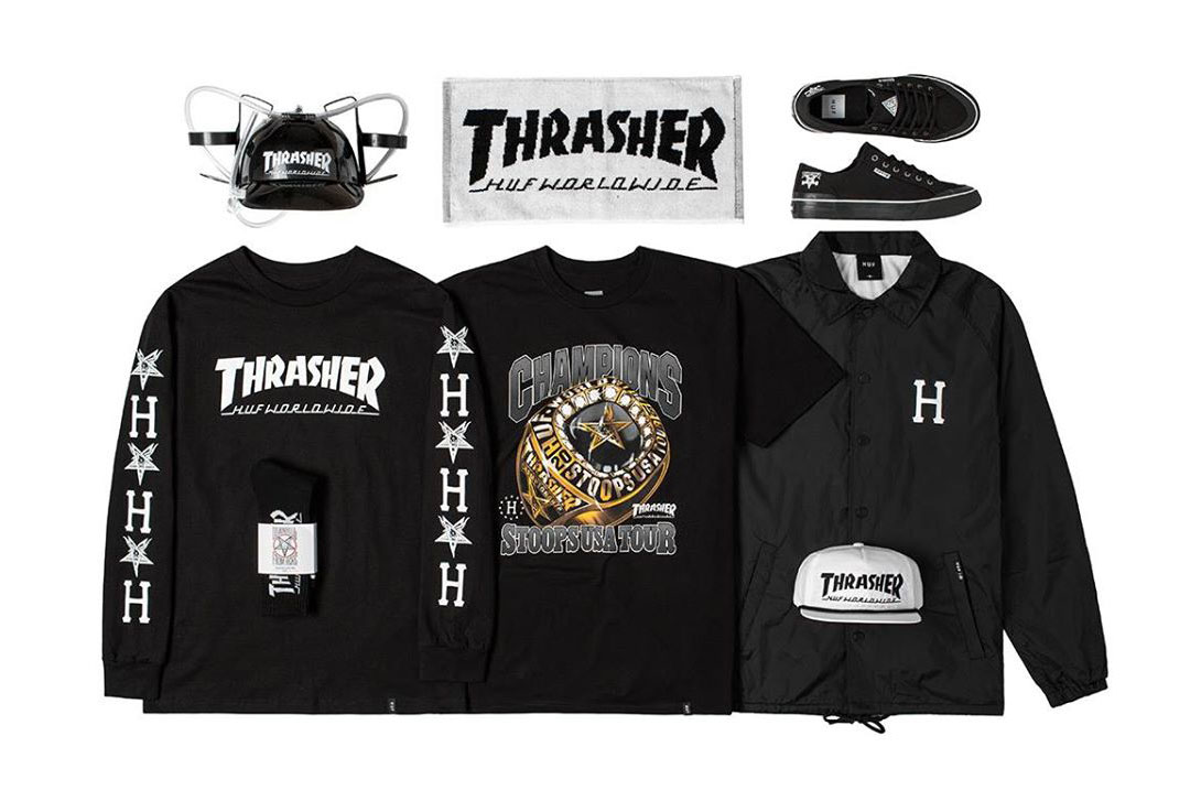 HUF x Thrasher Stoops USA Tour Collection