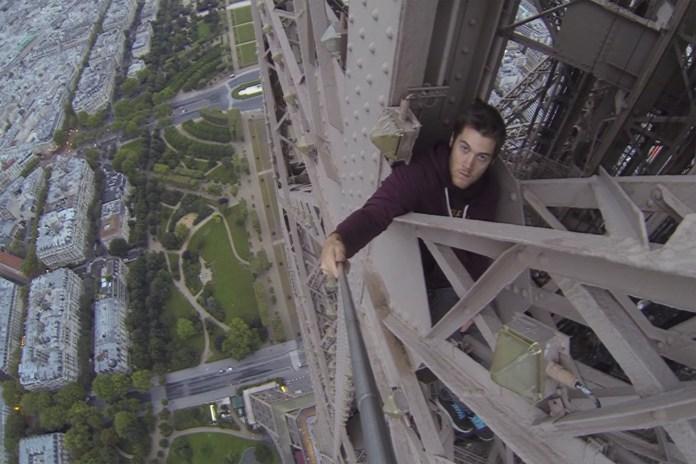 James Kingston Films His Daring Free-Climb of the Eiffel Tower
