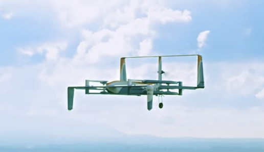 Jeremy Clarkson Introduces Amazon's Newest Delivery Drone