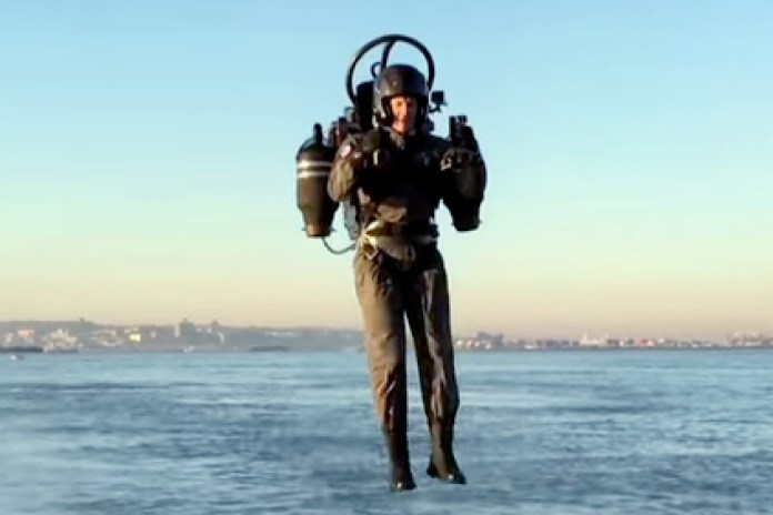 The World's Only Jetpack Takes Its First Flight in New York