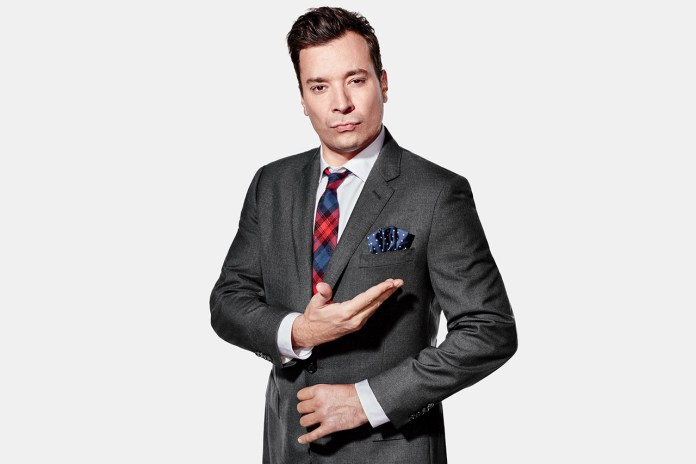 Jimmy Fallon & J.Crew Reinvent the Pocket Square for Millennials