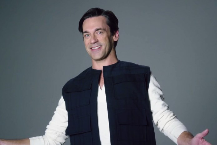 Jon Hamm and Emma Stone Audition for 'Star Wars' on SNL