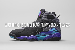 A Definitive History of Black Friday Jordan Releases