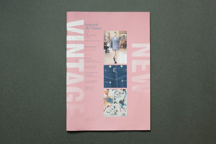"'Journal de Nîmes' ""New Vintage"" Issue"