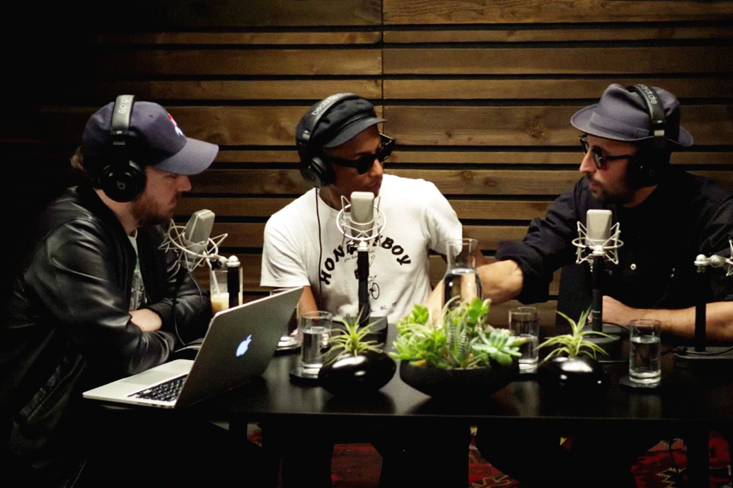 JR Joins Pharrell on OTHERtone Episode 10