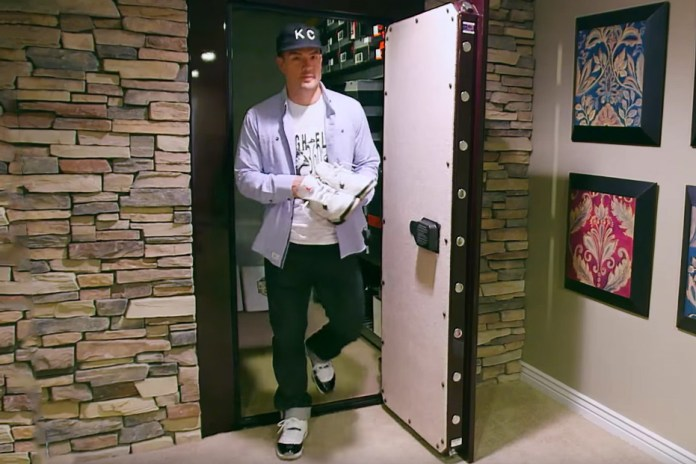 Kansas City Royals' Jeremy Guthrie Gives a Tour of His Indestructible Sneaker Vault