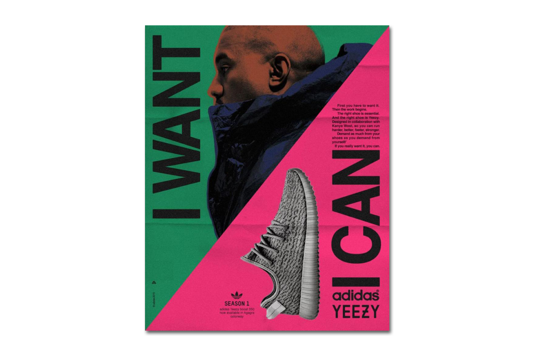 Artist Reimagines Vintage adidas Ads to Feature Kanye West