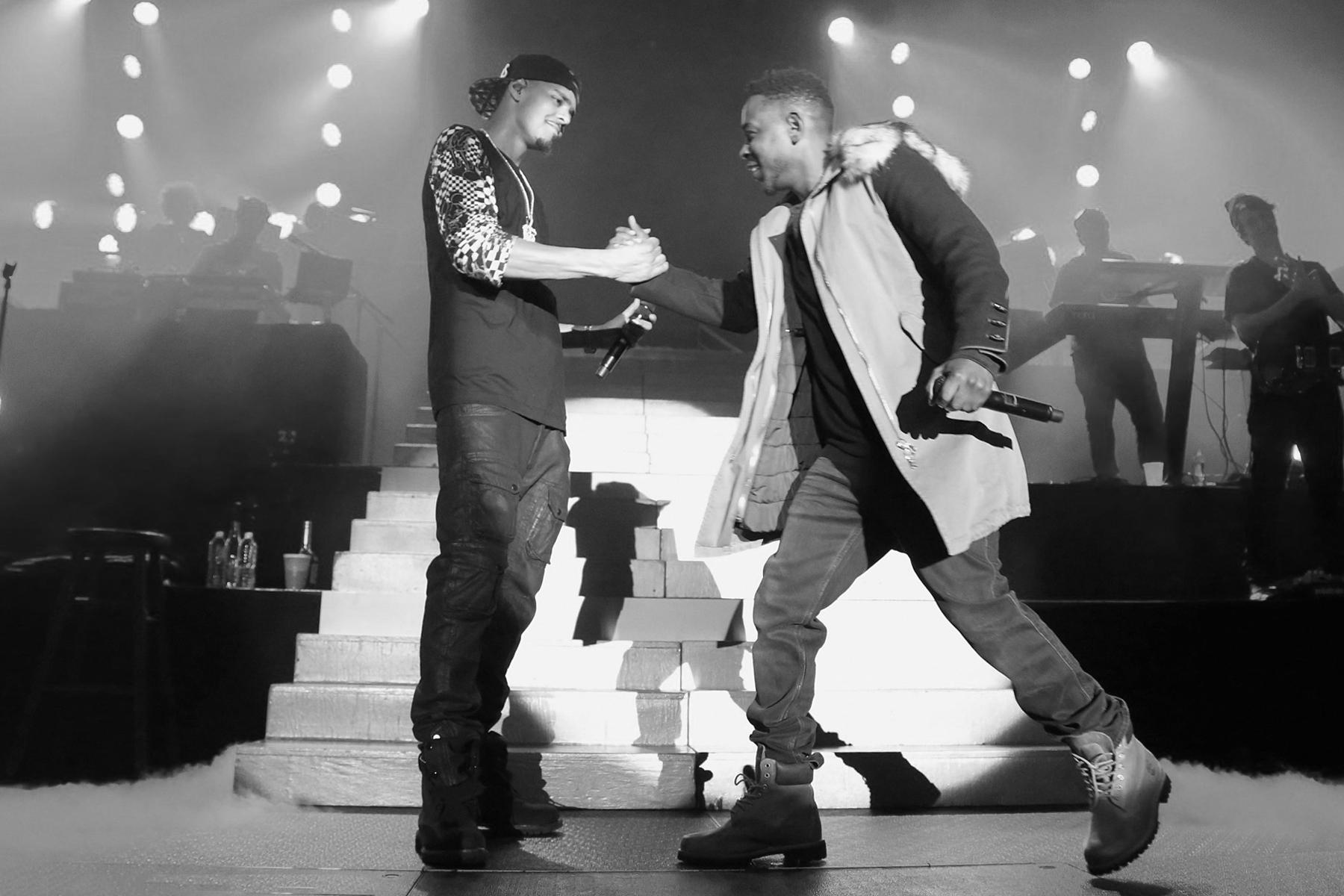 Kendrick Lamar and J. Cole Trade Verses on Black Friday