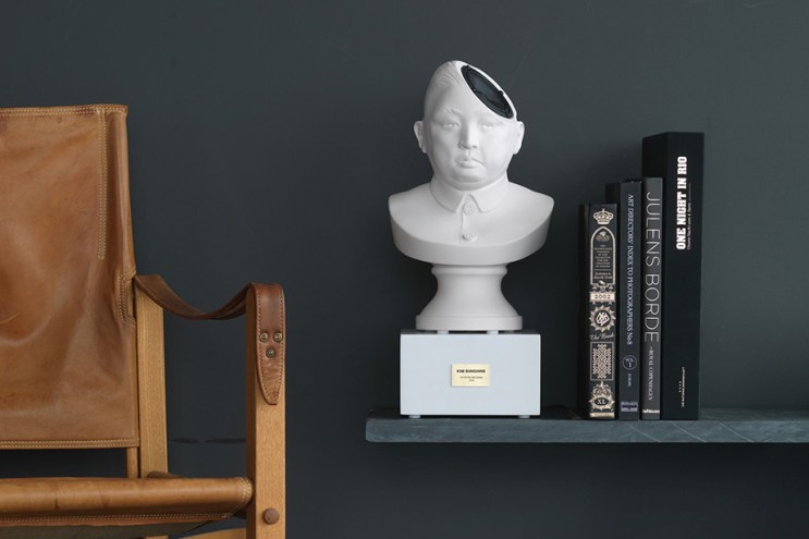 Make Kim Jong-un Sing for You With This Desktop Speaker Bust