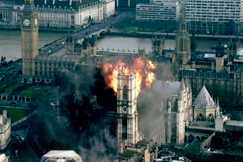 'London Has Fallen' Official Trailer Starring Gerard Butler and Morgan Freeman