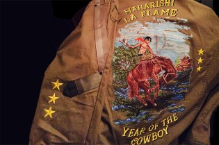 maharishi Makes a Custom Jacket for Travi$ Scott