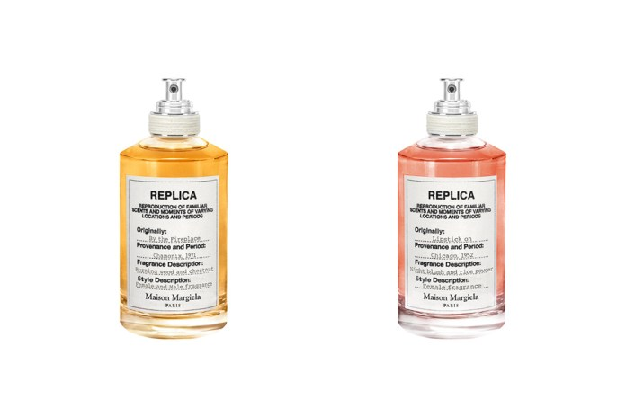 New Maison Margiela REPLICA Fragrances Inspired by the Fireplace and Lipstick