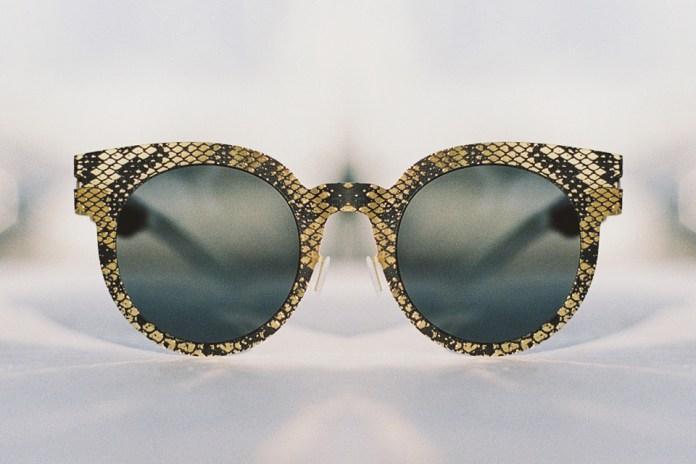 Get Tribal With Maison Margiela x MYKITA Snakeskin Sunglasses Collection