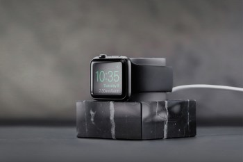 Native Union's Marble Apple Watch Charging Dock