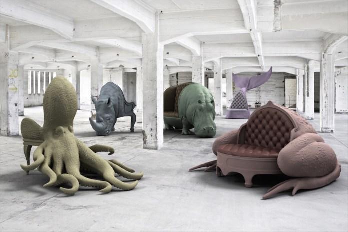 """Máximo Riera """"Animal Chair"""" Collection"""