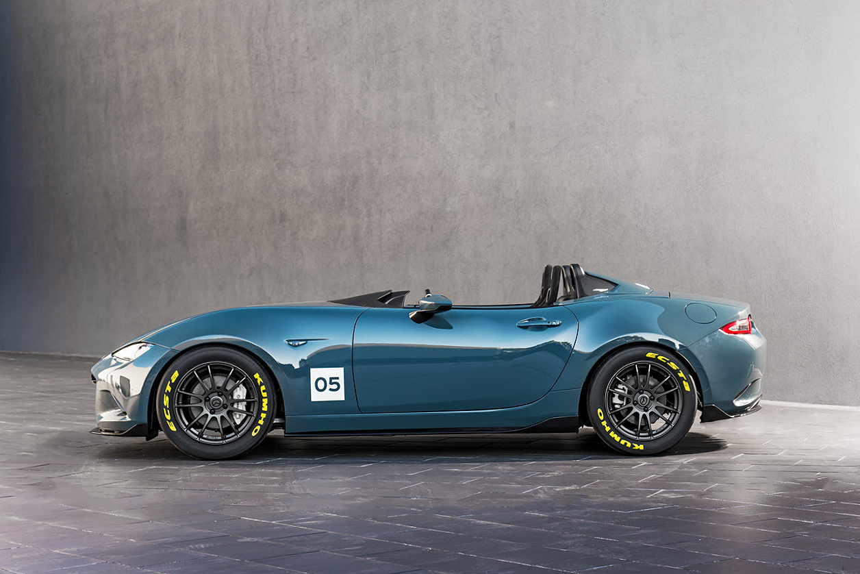 Mazda MX-5 Speedster and MX-5 Spyder Concepts