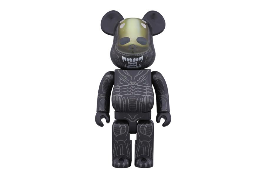 """Medicom Toy """"Alien"""" 400% Bearbricks"""