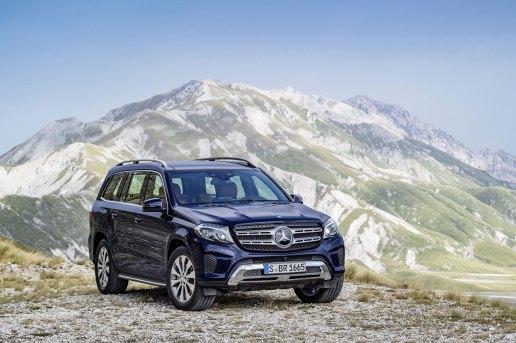 Introducing the 2017 Mercedes-Benz GLS