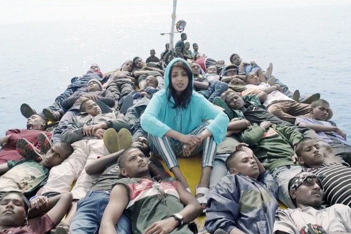"""M.I.A. Drops Powerful Video for """"Borders"""""""