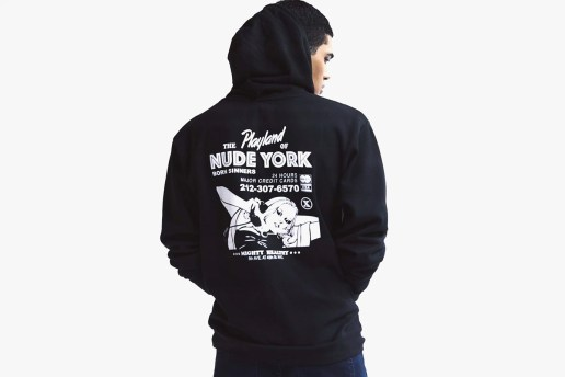 Morning Breath x Mighty Healthy 2015 Winter Nude York Hoodie