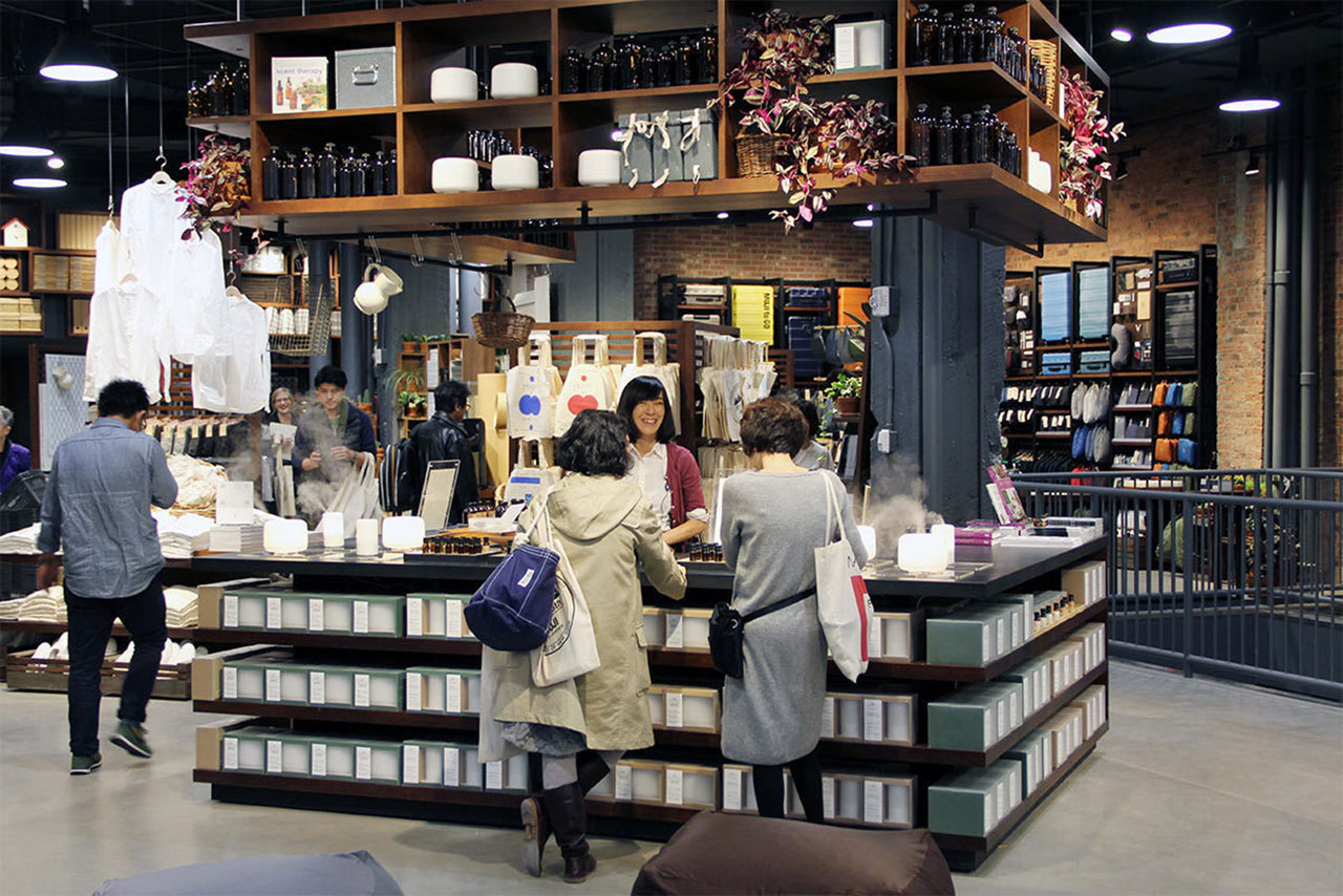 A Look Inside MUJI's New Fifth Avenue Flagship Store
