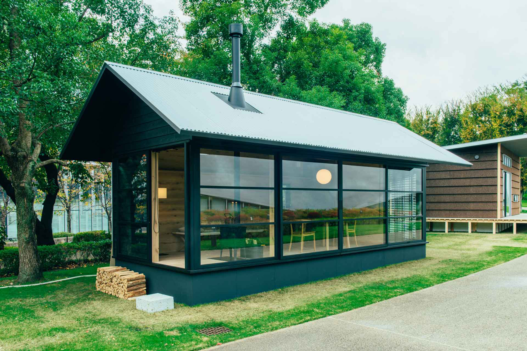 MUJI Huts Combine Micro-Home Minimalism with Traditional Japanese Style