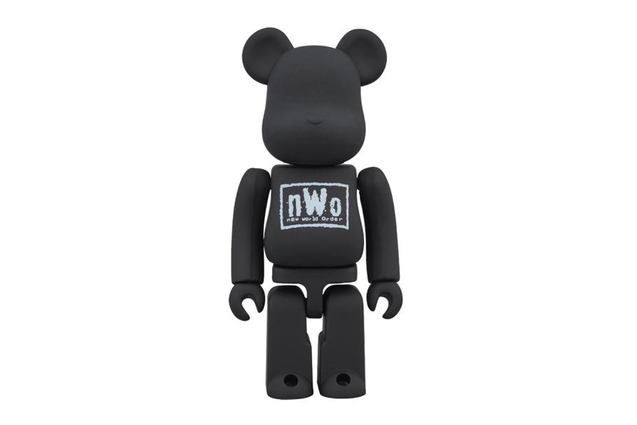 nWo x Medicom Toy Bearbrick in 100% and 400%