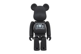nWo x Medicom Toy Bearbrick in 100% and 400%