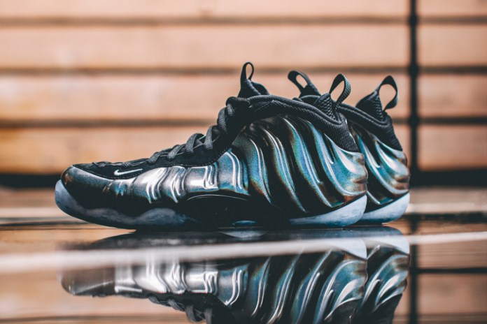 "A Closer Look at the Nike Air Foamposite One ""Hologram"""