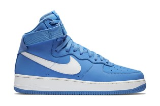 "Nike Air Force 1 High ""Baby Blue"""