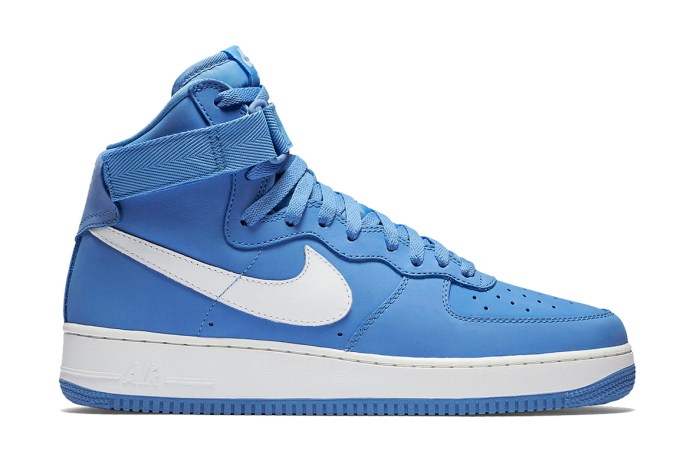 "Nike Air Force 1 High ""Baby Blue"""