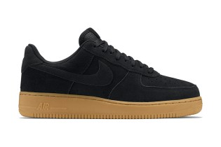 Nike Air Force 1 Low Black/Gum