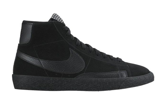 "Nike Blazer Mid PRM VNTG ""Triple Black"""