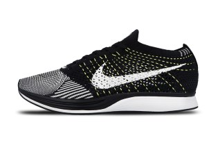 "Nike Updates the Flyknit Racer With ""Volt"" Flywire"