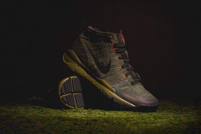 """A Closer Look at the Nike Flyknit Trainer Chukka """"Sequoia"""" & """"Black Anthracite"""""""