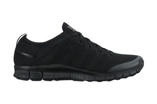 "Nike Free Flyknit NSW ""Triple Black"""