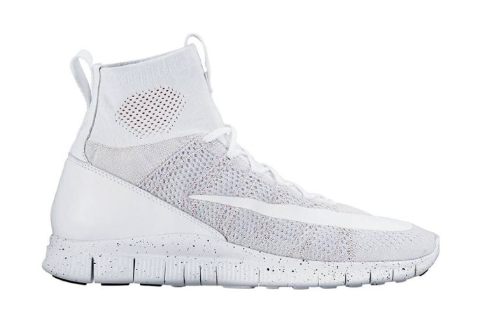 """Nike Free Flyknit Mercurial Superfly """"All White"""""""